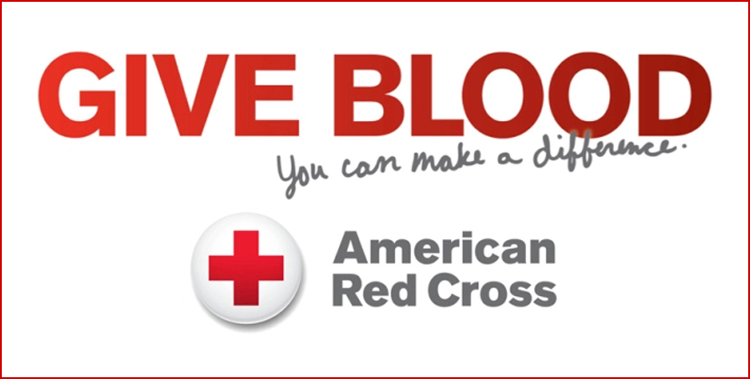 Give Blood w/ Red Cross
